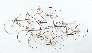 Bicycle-Cluster Wall