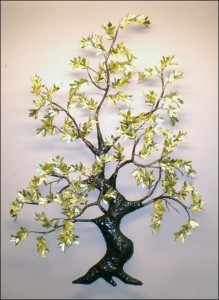 Japanese Maple Tree (Brass) Wall