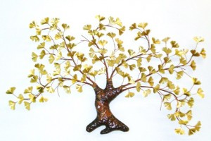 Gingko Tree (Brass)