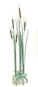 Cattail Floor Sculpture