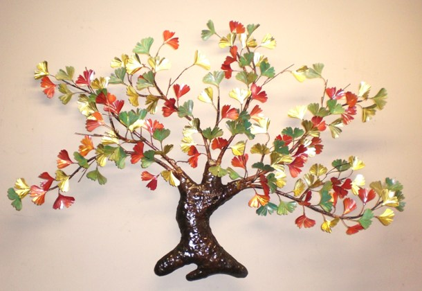 Ginkgo Tree Wall Sculptures (3 Selections)